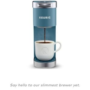Teal keurig K-mini plus